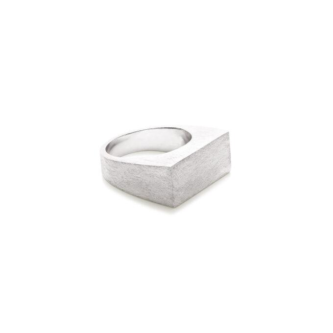 Herre sølv ring