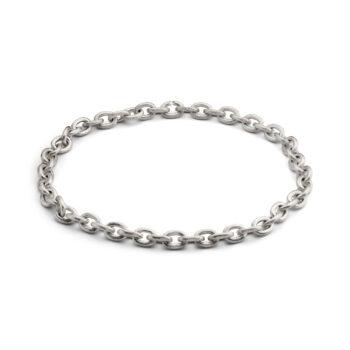 Sølv halskæde til mænd