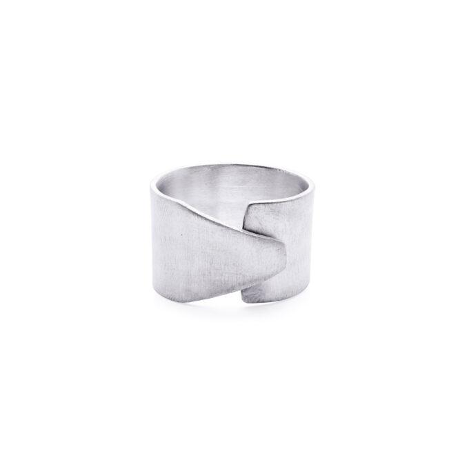 Herre ring sølv