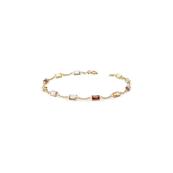 Guld armbånd kæde