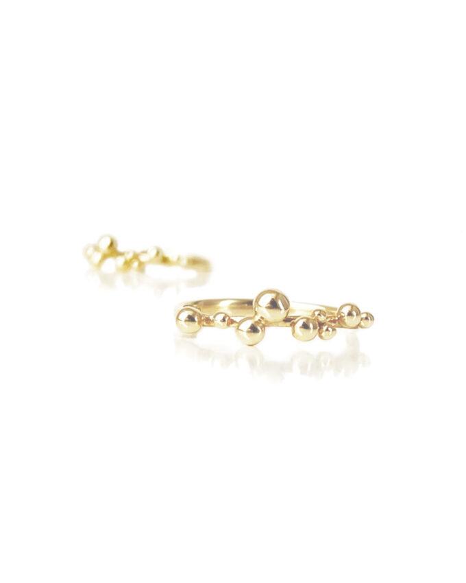 Guld ring karat 18
