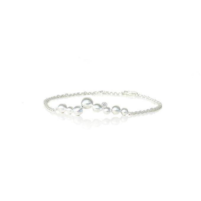 Armbånd sølv kæde