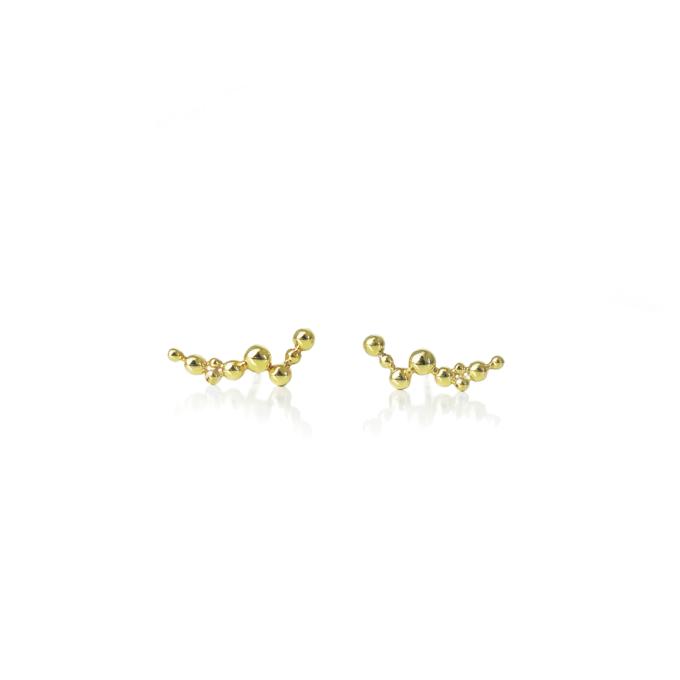 Øreringe guld 18 karat