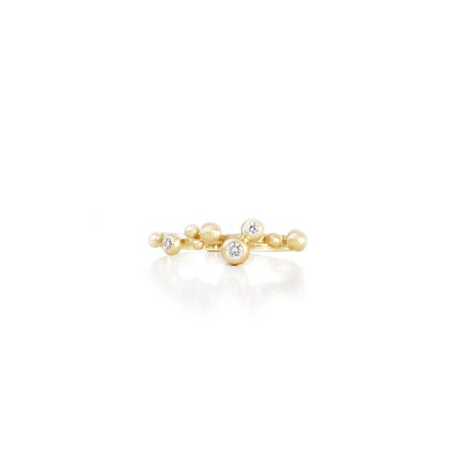 Ring guld diamant